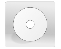 Αυτοκόλλητο στρογγυλό για cd 12x12cm
